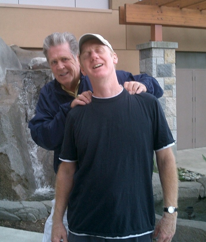 Brian WIlson with Gary Griffin